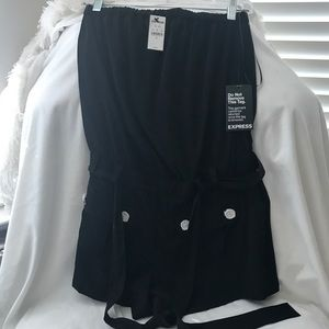 Other - Express black romper, new with tags